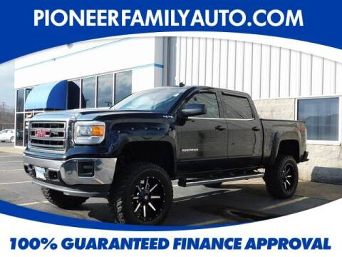 2014 GMC Sierra 1500 for sale at Pioneer Family auto in Marietta OH