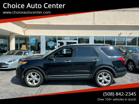 2013 Ford Explorer for sale at Choice Auto Center in Shrewsbury MA