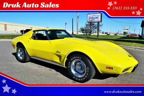 1975 Chevrolet Corvette for sale at Druk Auto Sales in Ramsey MN