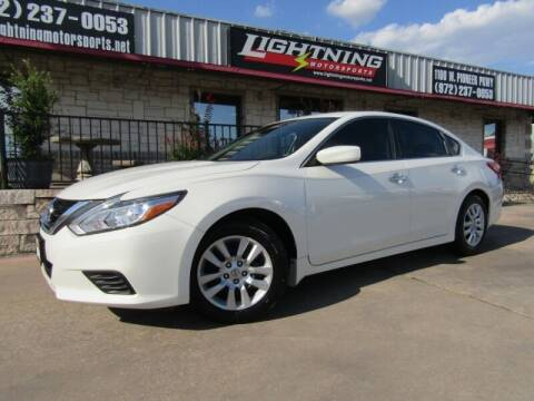 2017 Nissan Altima for sale at Lightning Motorsports in Grand Prairie TX