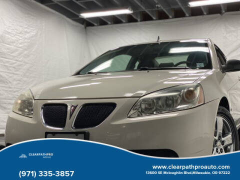 2008 Pontiac G6 for sale at CLEARPATHPRO AUTO in Milwaukie OR