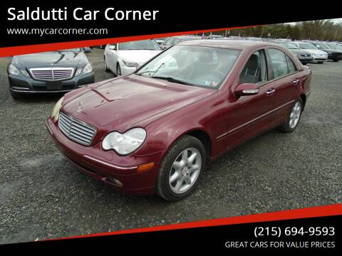 2003 Mercedes-Benz C-Class for sale at Saldutti Car Corner in Gilbertsville PA