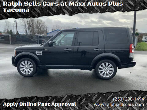2013 Land Rover LR4 for sale at Ralph Sells Cars at Maxx Autos Plus Tacoma in Tacoma WA