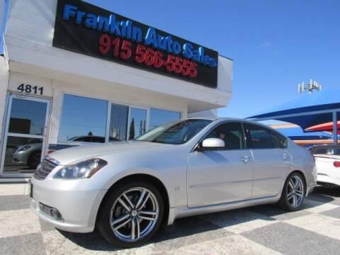 2006 Infiniti M35 for sale at Franklin Auto Sales in El Paso TX