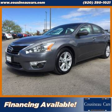 2015 Nissan Altima for sale at CousineauCars.com in Appleton WI