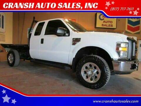 2008 Ford F-350 Super Duty for sale at CRANSH AUTO SALES, INC in Arlington TX