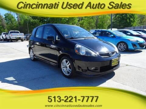 2007 Honda Fit for sale at Cincinnati Used Auto Sales in Cincinnati OH