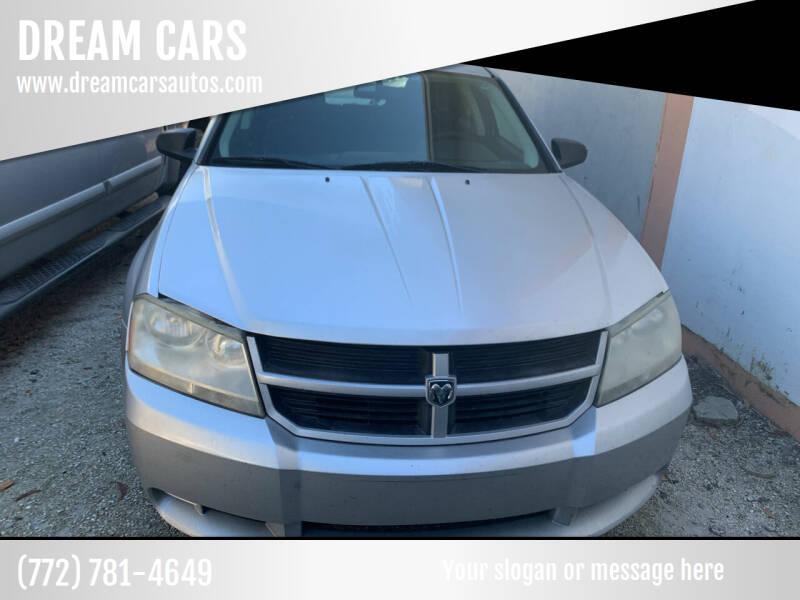 2010 Dodge Avenger for sale at DREAM CARS in Stuart FL