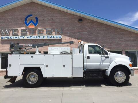 2011 Ford F750 Mechanics Truck for sale at Western Specialty Vehicle Sales in Braidwood IL