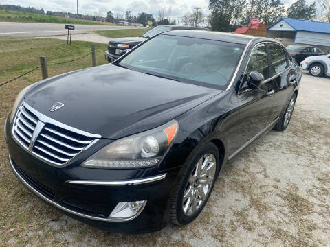 2013 Hyundai Equus for sale at Southtown Auto Sales in Whiteville NC