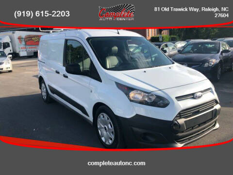 2016 Ford Transit Connect Cargo for sale at Complete Auto Center , Inc in Raleigh NC
