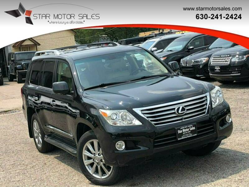2009 Lexus LX 570 for sale at Star Motor Sales in Downers Grove IL