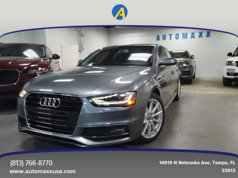 2015 Audi A4 for sale at Automaxx in Tampa FL