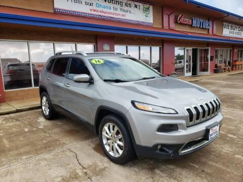 2016 Jeep Cherokee for sale at Ohana Motors in Lihue HI