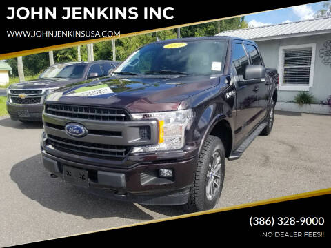 2019 Ford F-150 for sale at JOHN JENKINS INC in Palatka FL