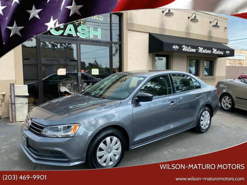 2015 Volkswagen Jetta for sale at Wilson-Maturo Motors in New Haven CT