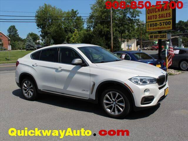 2015 BMW X6 for sale at Quickway Auto Sales in Hackettstown NJ