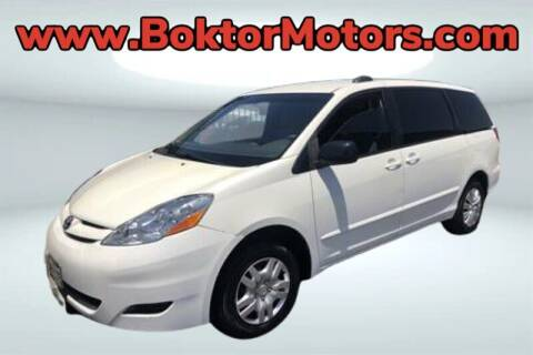 2007 Toyota Sienna for sale at Boktor Motors in North Hollywood CA