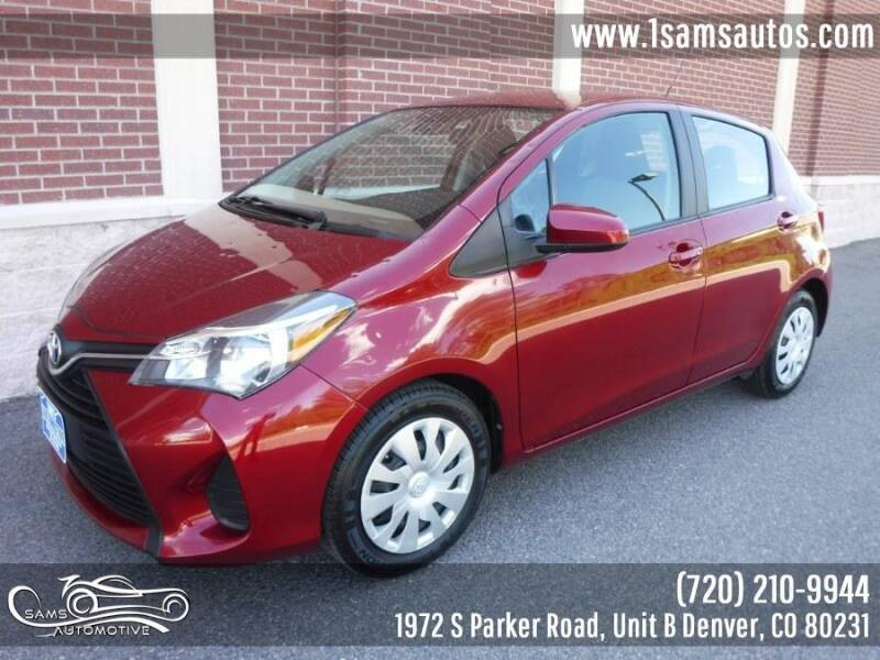 2017 Toyota Yaris for sale at SAM'S AUTOMOTIVE in Denver CO