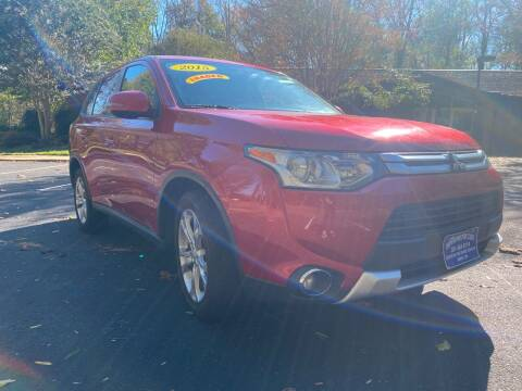 2015 Mitsubishi Outlander for sale at Bowie Motor Co in Bowie MD
