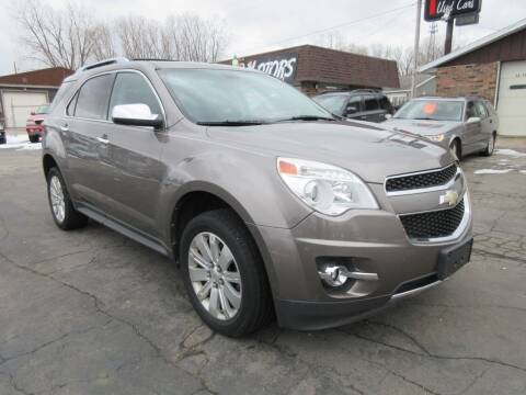 2010 Chevrolet Equinox for sale at Fox River Motors, Inc in Green Bay WI