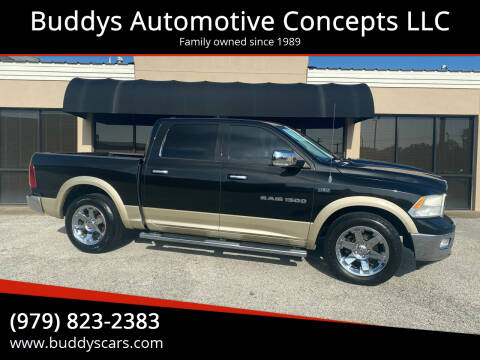 2011 RAM Ram Pickup 1500 for sale at Buddys Automotive Concepts LLC in Bryan TX