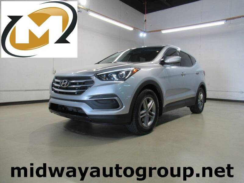 2018 Hyundai Santa Fe Sport for sale at Midway Auto Group in Addison TX
