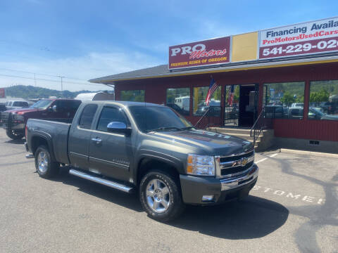 2011 Chevrolet Silverado 1500 for sale at Pro Motors in Roseburg OR