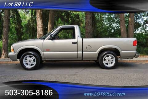 2003 GMC Sonoma for sale at LOT 99 LLC in Milwaukie OR