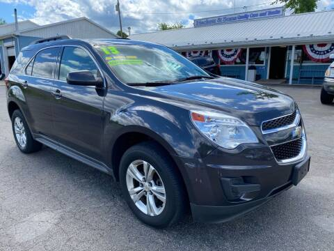 2013 Chevrolet Equinox for sale at HACKETT & SONS LLC in Nelson PA