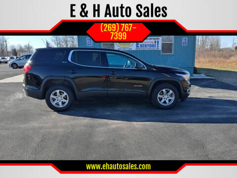 2017 GMC Acadia for sale at E & H Auto Sales in South Haven MI