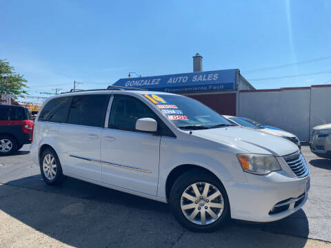 2014 Chrysler Town and Country for sale at Gonzalez Auto Sales in Joliet IL