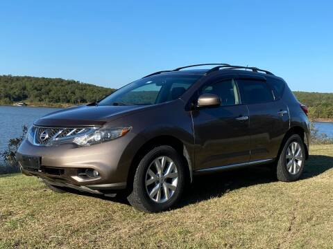 2012 Nissan Murano for sale at TINKER MOTOR COMPANY in Indianola OK