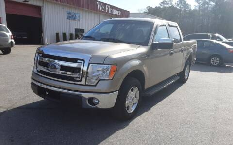 2014 Ford F-150 for sale at Mathews Used Cars, Inc. in Crawford GA