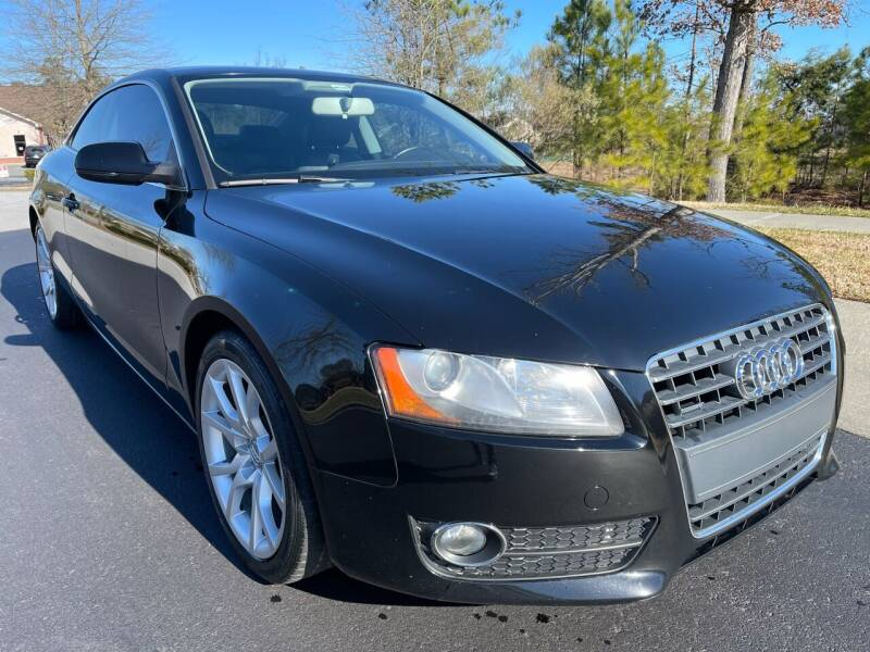 2011 Audi A5 for sale at LA 12 Motors in Durham NC