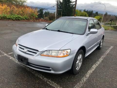 2001 Honda Accord for sale at KARMA AUTO SALES in Federal Way WA