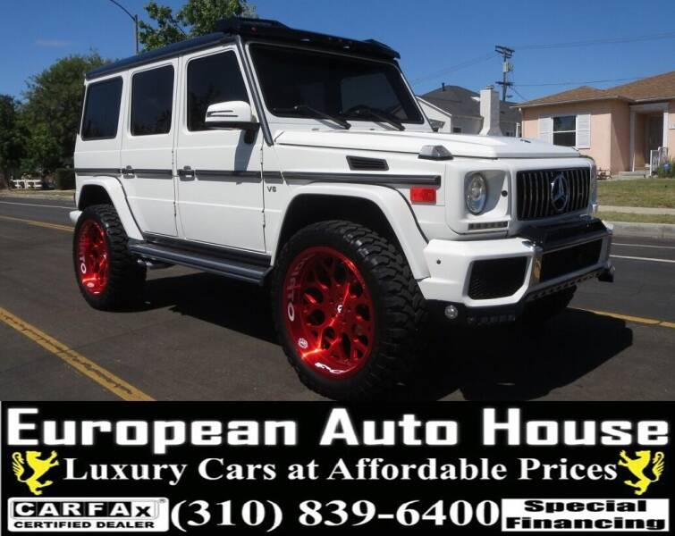 2008 Mercedes-Benz G-Class for sale at European Auto House in Los Angeles CA