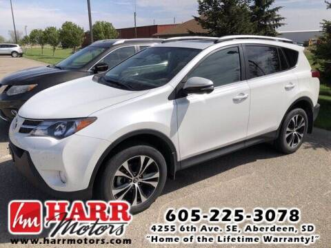 2015 Toyota RAV4 for sale at Harr's Redfield Ford in Redfield SD