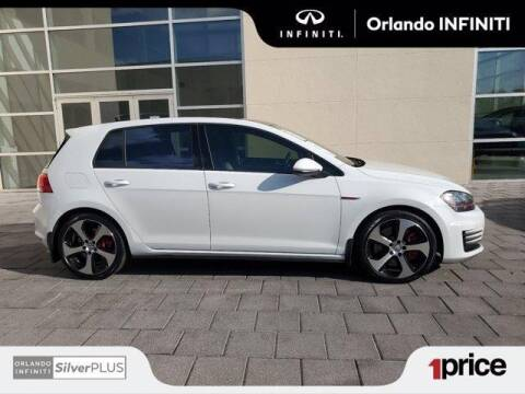 2015 Volkswagen Golf GTI for sale at Orlando Infiniti in Orlando FL