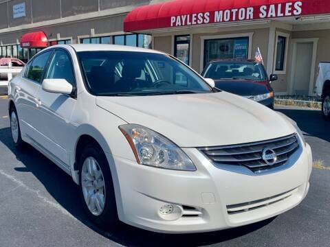 2011 Nissan Altima for sale at Payless Motor Sales LLC in Burlington NC