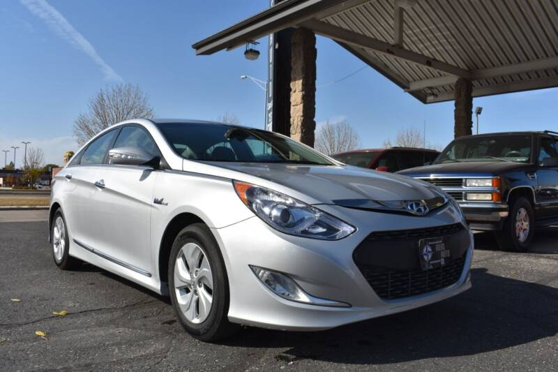 2015 Hyundai Sonata Hybrid for sale at Atlas Auto in Grand Forks ND