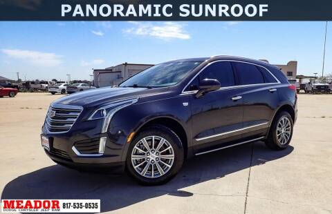 2017 Cadillac XT5 for sale at Meador Dodge Chrysler Jeep RAM in Fort Worth TX