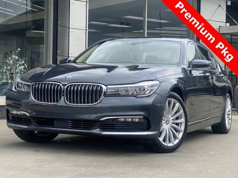 2016 BMW 7 Series for sale at Carmel Motors in Indianapolis IN
