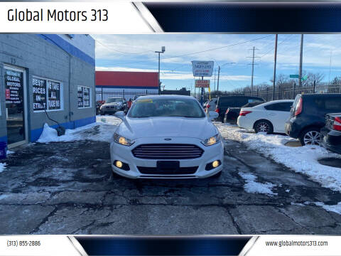 2016 Ford Fusion for sale at Global Motors 313 in Detroit MI
