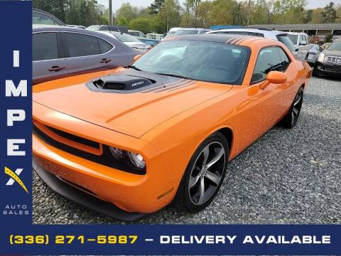 2014 Dodge Challenger for sale at Impex Auto Sales in Greensboro NC