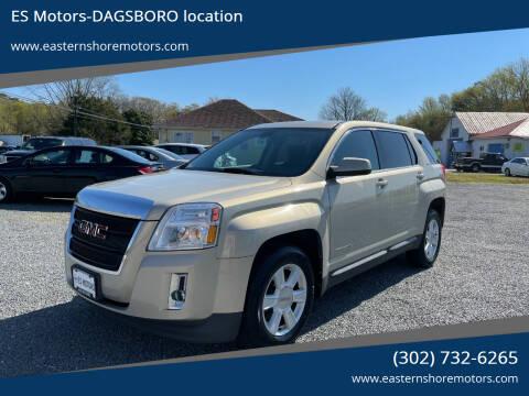 2010 GMC Terrain for sale at ES Motors-DAGSBORO location in Dagsboro DE