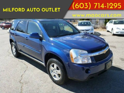 2009 Chevrolet Equinox for sale at Milford Auto Outlet in Milford NH