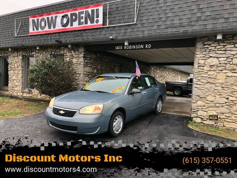 2007 Chevrolet Malibu for sale at Discount Motors Inc in Old Hickory TN