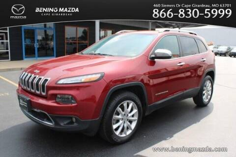 2014 Jeep Cherokee for sale at Bening Mazda in Cape Girardeau MO