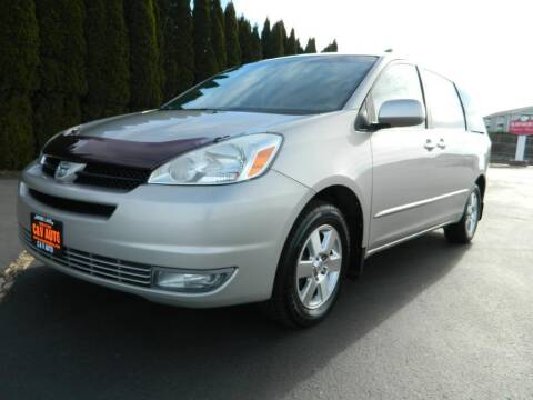 2004 Toyota Sienna for sale at C & V Auto Sales & Service in Moses Lake WA